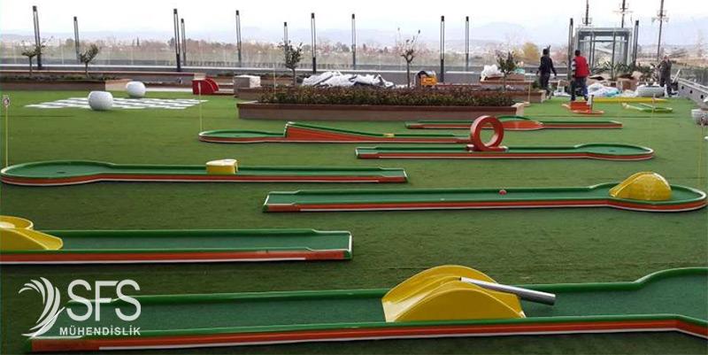 Mini golf sahası yapımı Mini golf seti fiyatları